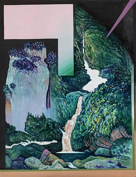 瀑布#3,油彩畫布,145.5x112cm,2017.jpg