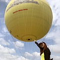 從熱氣球上看吳哥