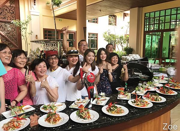 新聖卡度假村柬式料理課