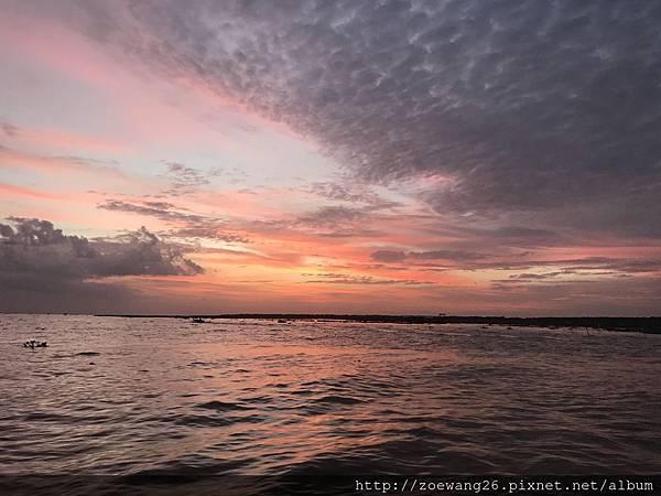 洞里薩湖日落