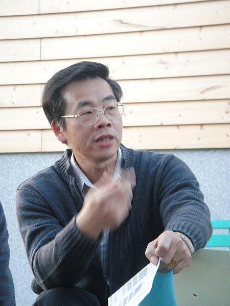 長榮百合國小籌備處主任陳世聰