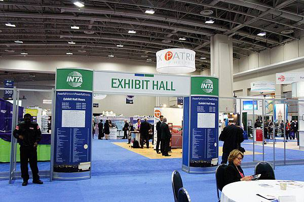 INTA 2012年會各國事務所展覽廳
