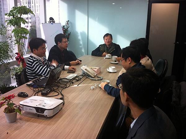 泰國國立Mahidol U Dr. Paron12月19日拜訪眾律國際法律事務所 2