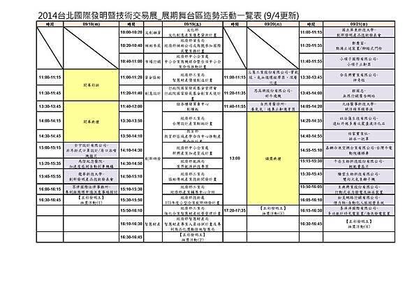 2014台北國際發明展暨技術交易展