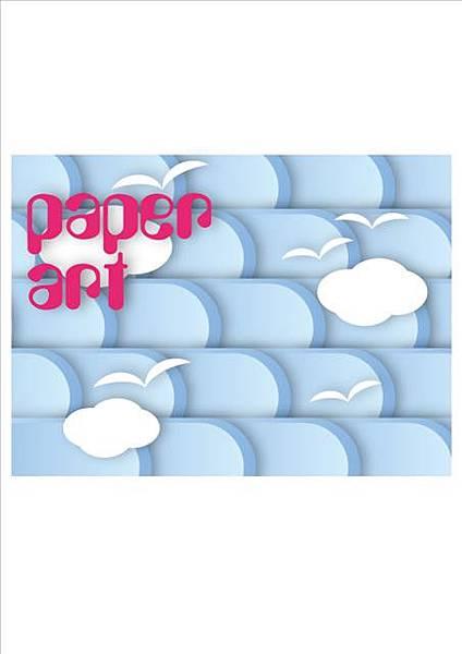 剪紙藝術平面設計
