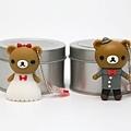 可愛婚禮小熊組