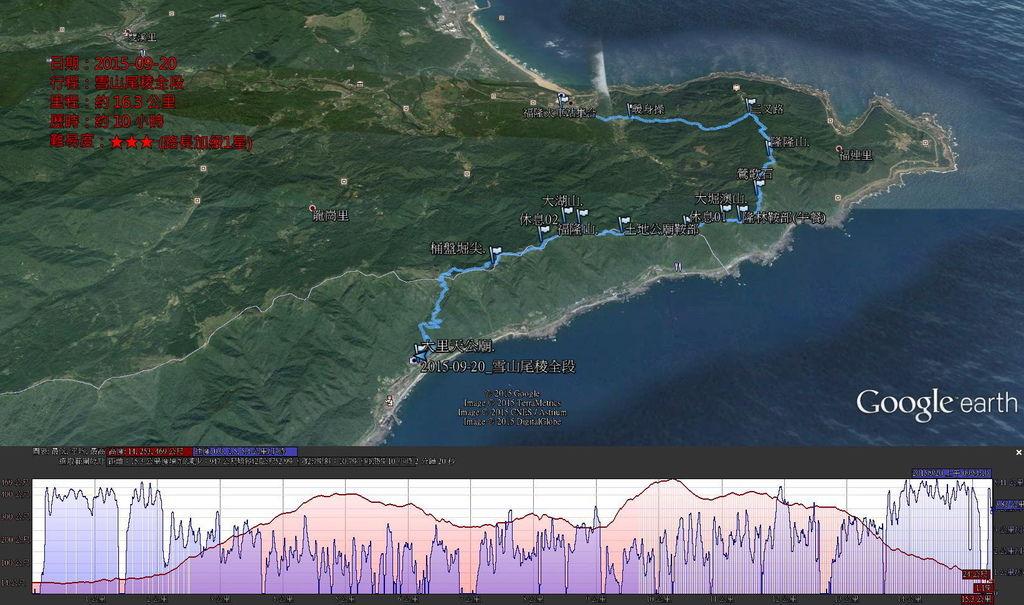 2015-09-20_雪山尾稜全段-01