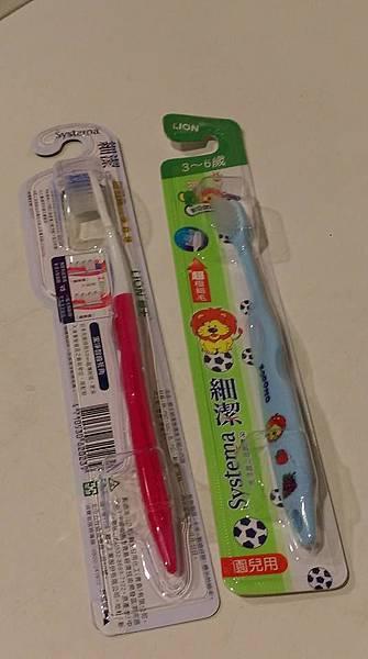 LION日本獅王細潔牙刷6
