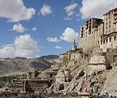 拉達克首都列城(Leh)的廢墟王宮及其四週土造寺院建築 (2).JPG