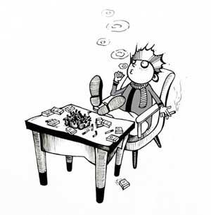 【插圖】抽煙