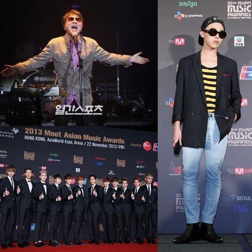 2013 MAMA頒奬典禮上D-Gragon囊獲四項大奬 EXO獲得年度專輯奬
