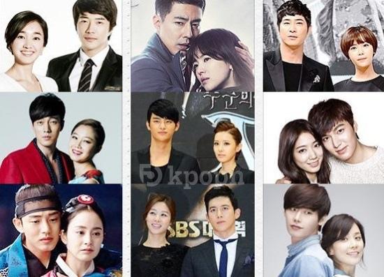 SBS演技大賞情侶獎入圍者