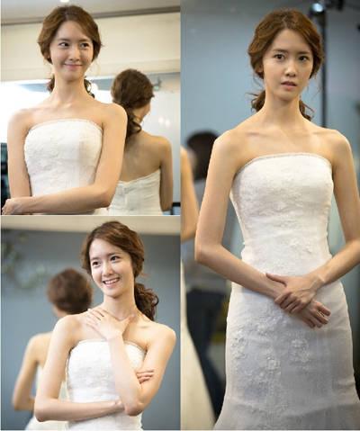 「總理和我」允兒婚紗造型美翻全場