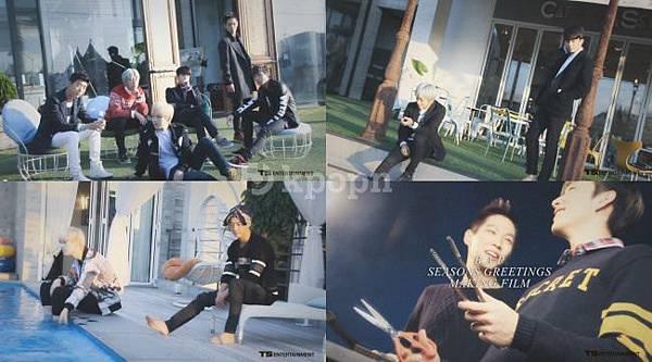 B.A.P 2014年曆拍攝花絮