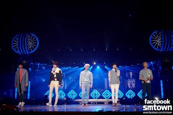 SHINee 演唱會精彩結束