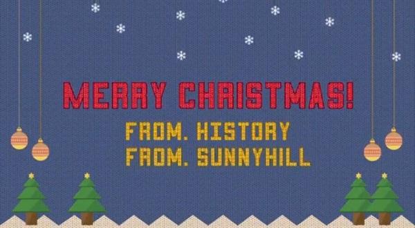 Sunny Hill,HISTORY聖誕曲