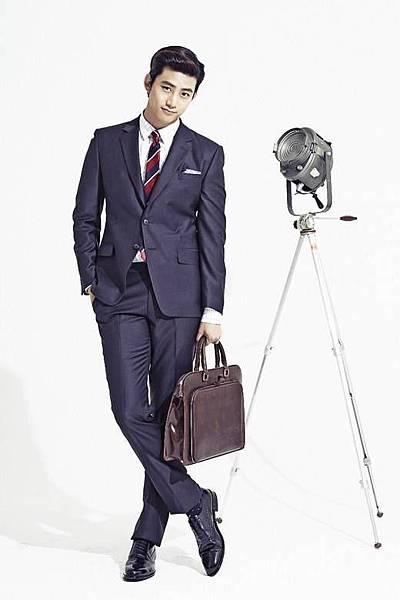 澤演成為男裝品牌代言人