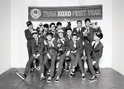 EXO「咆哮」!被美國billboard選定為2013最佳K-POP