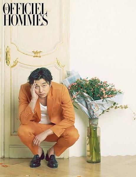 孔劉 Hommes 魅力畫報