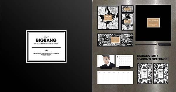 BIGBANG 2014 年曆開賣!