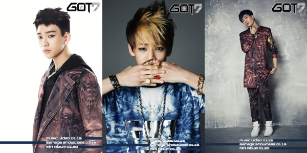 GOT7 最後三位成員公開