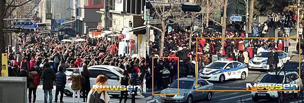 EXO簽名會連警察也出動