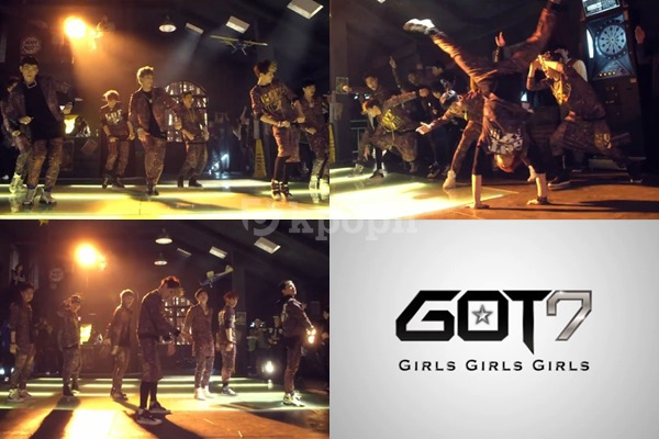 "GOT7″Girls Girls Girls""MV"