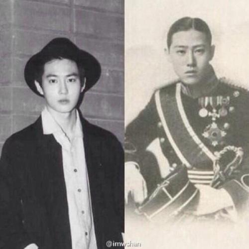 Su Ho 和李鍝王子撞臉?
