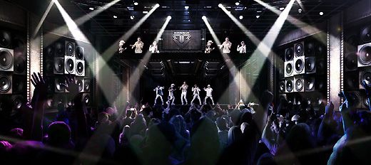 YG公司1月17日首次公開Bigbang全息圖演唱會