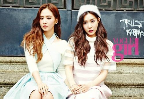 Yuri,Tiffany VOGUEgirl畫報