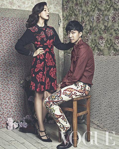 李昇基與花樣姐姐時尚畫報