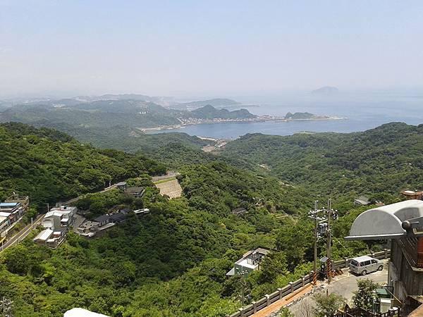 20130702 處處可看到的九份面海景觀