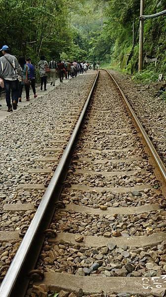 十分鐵道(相片來源 - 一同出遊的好友)