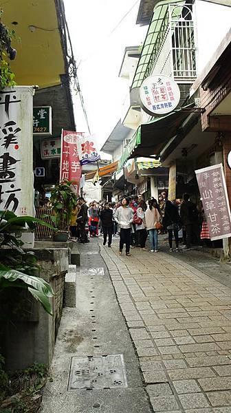 平溪老街(相片來源 - 一同出遊的好友)