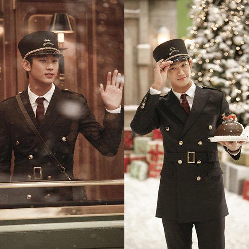 金秀賢身穿製服唱聖誕歌引熱議