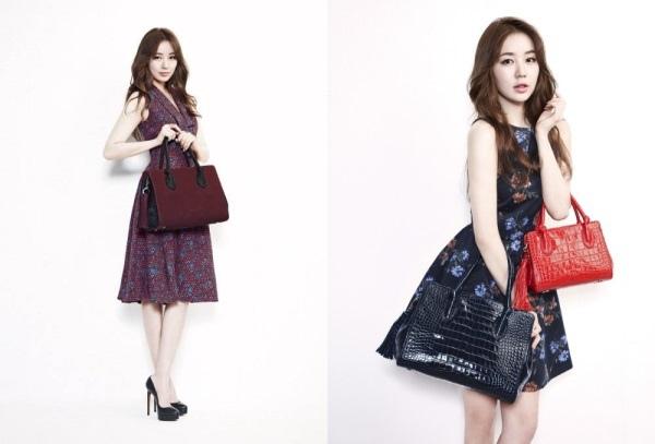 尹恩惠擔任女包品牌設計師