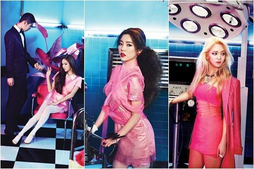 Jessica、Sunny、孝妍的性感預告照被公開