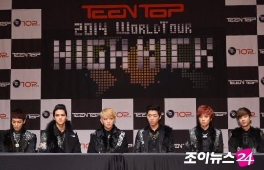 TEEN TOP 世巡將來台