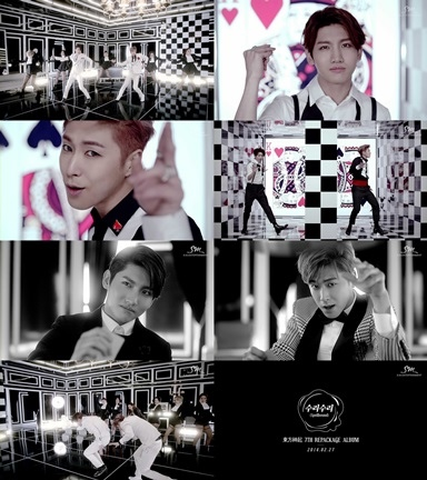 TVXQ公開新歌第二版MV