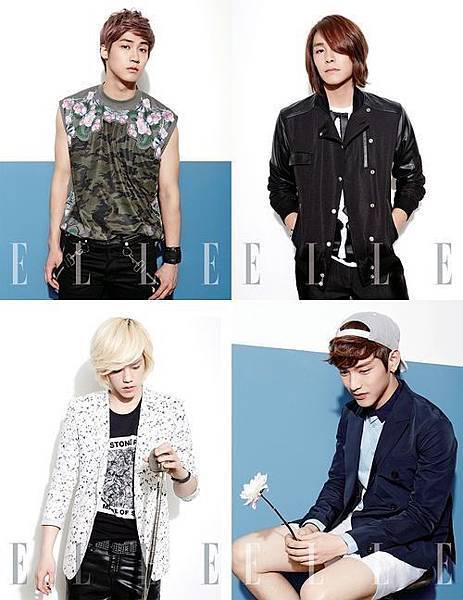 N.Flying ELLE 畫報公開