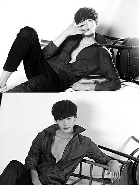 演員李鍾碩結實的胸肌畫報成熱議話題
