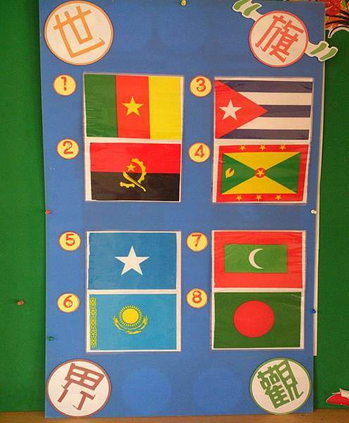 第二次世界旗觀