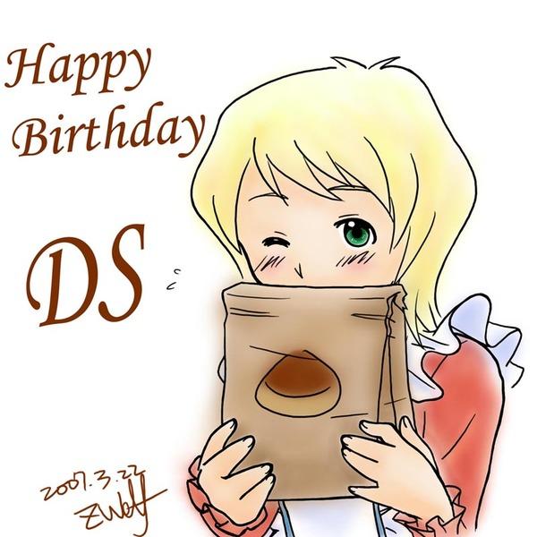 DS的生日賀圖w