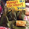 看到各種泰國當地小吃