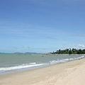 Phala Beach,水有些混濁