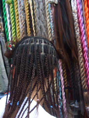 黑人頭編髮
