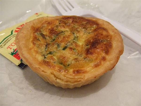 Quiche Spinach,好吃