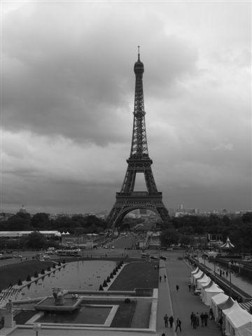 可以看到最完整的巴黎鐵塔
