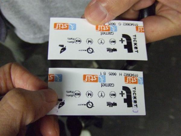 用 T-ticket 搭捷運