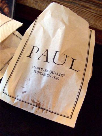 在巴黎吃保羅,特別好吃